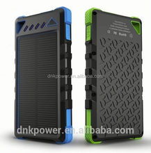 8000mAh Universal Dual USB solar Power Bank External Battery Charger