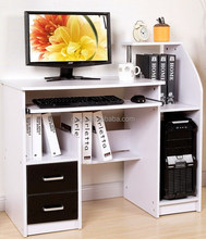 Wholesale green furniture office computer desk with bookcase home furniture