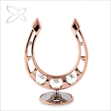 Hot Sale Exquisite Rose Gold Plated Crystals Corporate Gift