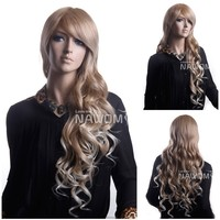 grey human hair wig hot sale
