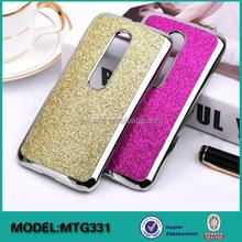 New arrival aluminum leather case cover cellphone for motorola Moto G3 G 3 3rd Gen 2015 xt1064