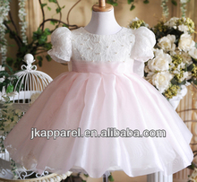 moda lindo bebé niñas vestidos princesa jk8905