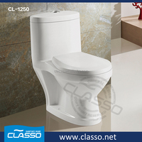 washdown closet one piece western standard children toilet