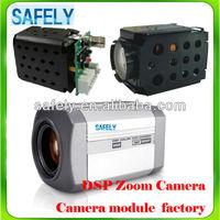 700TVL 30x optical zoom cctv camera/ dsp zoom box camera/ zoom ccd camera module