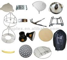 Pizza oven smoker accessories and bbq tools for the ceramic kamado grill/bbq smoker