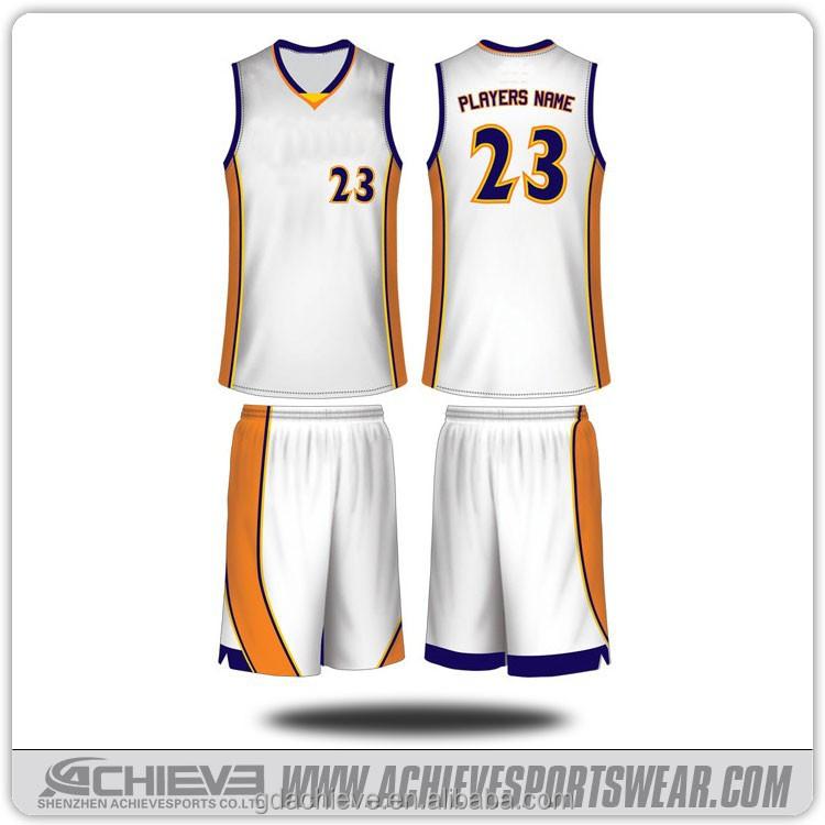 Wholesale Blank Basketball Uniforms Design/ Custom ...