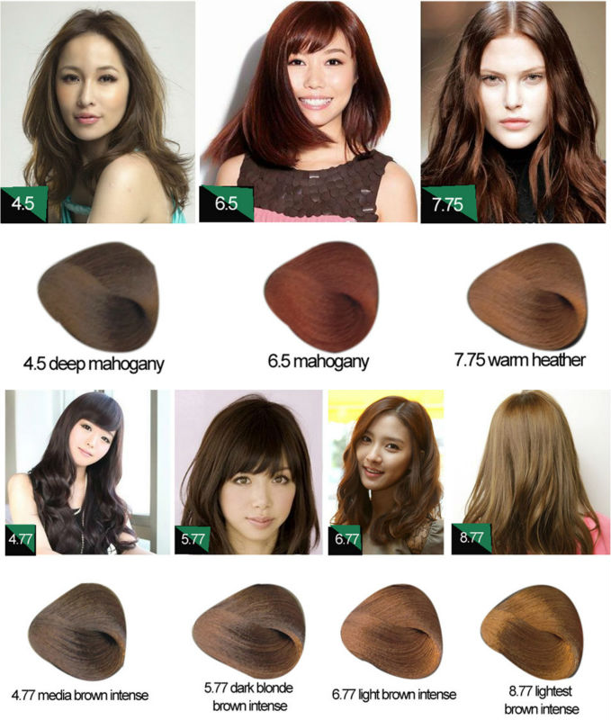 Best Selling Chocolate Brown Italian Hair Color Brands Gmpc And Iso ...