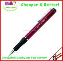 Factory prices Decent metal pen logo laser pen metal detectable pens