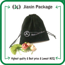 2015 best price flannel jewelry drawstring pouch with logo printed