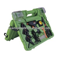 60pcs different kinds of hand tools and drill set in blow mold case