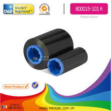800015-101 K compatible for Zebra Black Monochrome Ribbon (1000 prints) workforce i Series printers P310i