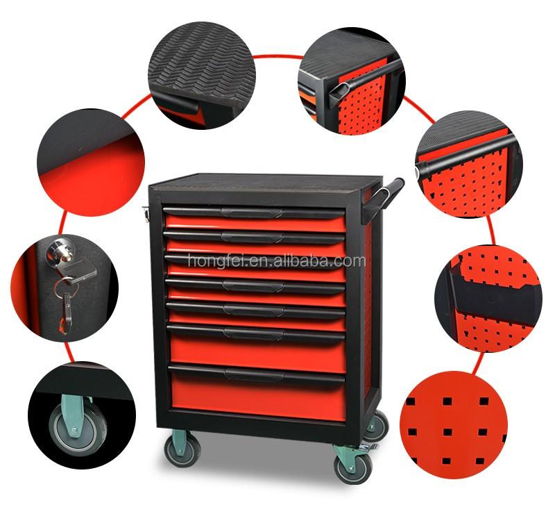 Pas cher m tal armoire outils avec 7 tiroirs pour for Conteneur moins cher