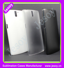 JESOY New Product Ultra Thin Frosted Case For Oneplus Two Case, Blank Phone Cases For UV Printing