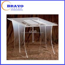Acrylic Plexiglass Table Top Church Lectern