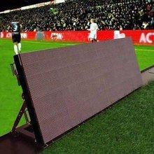 new products 2012 stadium perimeter led curtain screen