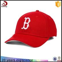 alibaba china letter logo red bulk brimless baseball cap