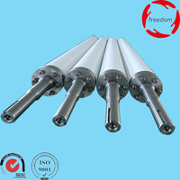 High Temperature Resistant Hollow Ceramic Roll Fused Silica Quartz Roller For Tempering Furnace