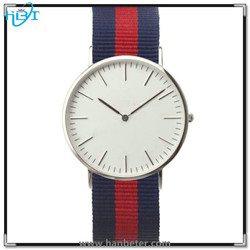 Top quality quartz stainless steel case back slim watches factory offer best price