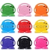 Cute Smiling Face Shockproof Stand With Handle Foam EVA Case for iPad Air 2