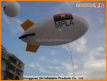 0.18mm inflatable PVC flying helium blimp vote airship