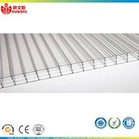 OWS High Quality 5.5mm Hollow PC Polycarbonate Roofing Garage