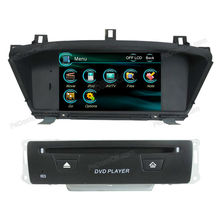 high qulity 2 din car DVD player with built-in GPS nevigation/Bluetooth/Audio/Radio/Ipod for Honda Odyssey