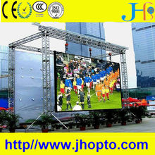 IP65 brightness full color fix or rental HD xxx video china p10 outdoor led sign