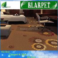 Alibaba china branded loop pile printed carpet