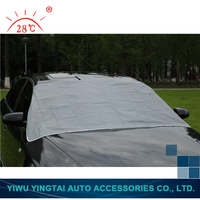 Latest design factory wholesale fast car cover with magnet