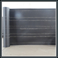 Chinese supplier for cheap ASTM standard product asphalted paper roofing felt black building paper used as roor underlayment