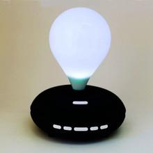 Light bulb shape 4 colors Led light bluetooth speaker with FM radio and TF card