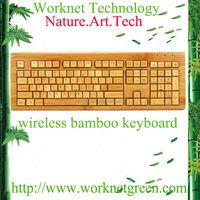 100% handmade wireless french keyboard for desktop with 108 keys