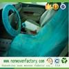 Spun bonded nonwoven disposable car seat covers/car seat covers design,cloth seat covers