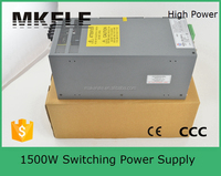 SCN-1500-24 high power supply 24v 1500w switch mode power supplies 24 volt 60 amp power supply with PFC circuit