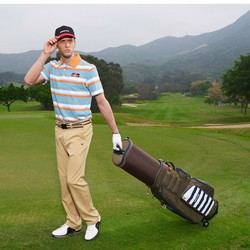 Professional golf travel bag with wheels