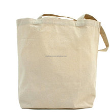 Wholesale Shopping Shoulder Plain Canvas Tote bag