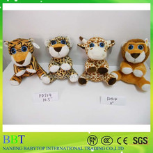 Wholesale Anime TY big eyes wild animals Plush Doll stuffed toy