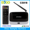 Factory CS918 RK3188 quad core 1g 8g packing box lcd tv, m8 amlogic s802 quad core android 4.4 smart tv box