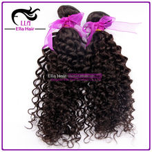 Hair weft 100% Indian hair machine made 18'' color 1b curly 100g/pack tangle free no shed weave cheap human hair machine weft