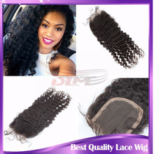 Grade 6a wholesale cheap human hair lace closure brazilian afro kinky curly virgin hair cheap lace closure free shipping(4*4)