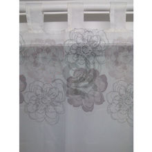 beautiful kitchen printed curtains with fancy voile window curtain pattern