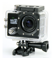 FHD 1080p wifi 170 degree wide viewing waterproof camera can be video recording and photograph
