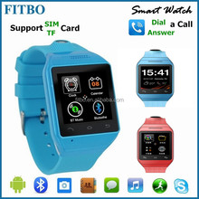 Multimedia FITBO best cell phone watch For Samsung LG HTC Moto Nexus Android phone