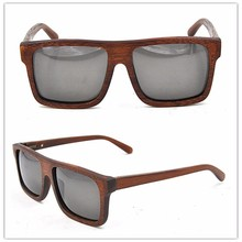 2015 Handmade Natural Polarized wooden Sunglasses