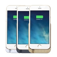new arrival hot selling special design for iphone 6 portable power bank battery case 7000mah for iphone 6