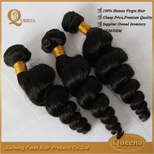 Best selling products 2015 factory direct 7A grade virgin wholesale loose wave brazilian hair weave