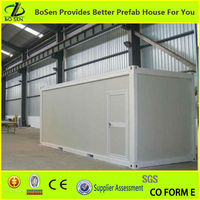 Low cost prefabricated 20' Living container project