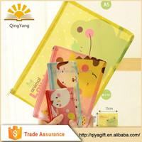 Clear customizable Cute transparent PVC Promotion zipper pattern unbranded Plastic pencil case