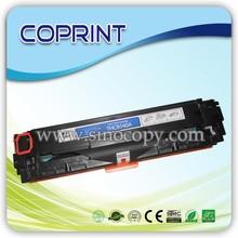 Compatible cartucho de tóner láser hp cb540a cb541a cb542a cb543a