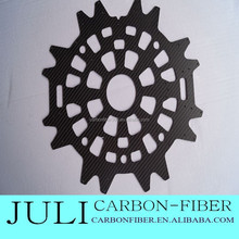 2015 quadcopter telaio in fibra di carbonio, in fibra di carbonio cnc macchina cornici per drone parti